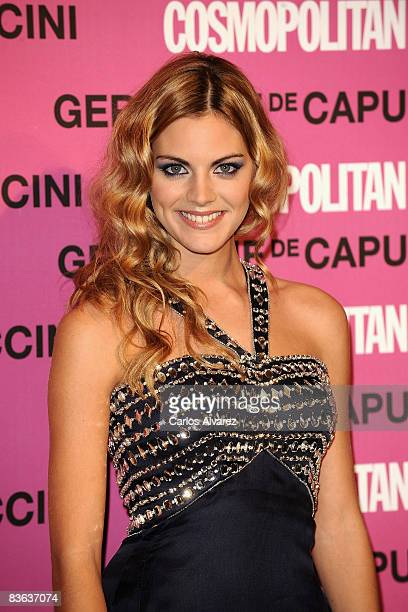 Spanish actress Amaia Salamanca attends 2008 Cosmopolitan Awards at the Ritz Hotel on November 10 2008 in Madrid Spain