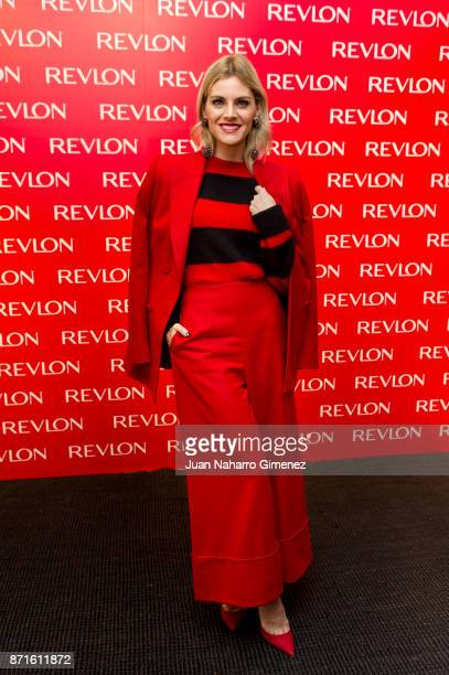 Spanish actress Amaia Salamanca attends Revlon new products presentation at The Little Showroom on November 8, 2017 in Madrid, Spain.