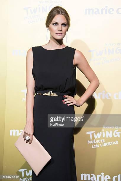 Spanish actress Amaia Salamanca attends the Marie Claire Prix de la Moda 2015 at the Callao cinema on November 19 2015 in Madrid Spain