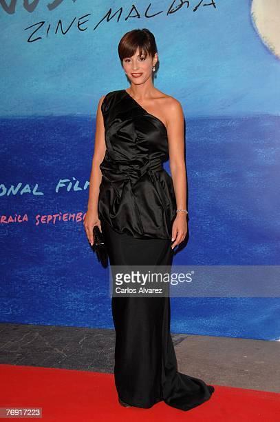 Spanish actress Ana Alvarez attends the 55th San Sebastian Film Festival Opening Night September 20, 2007 at Kursaal Palace in San Sebastian, Spain.