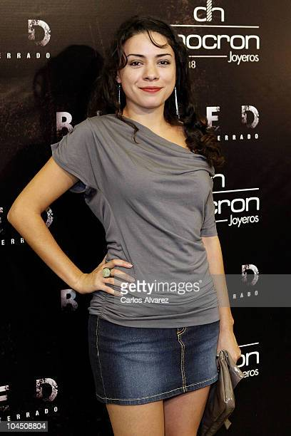 Spanish actress Ana Arias attends 'Buried' premiere at the Palafox cinema on September 27 2010 in Madrid Spain