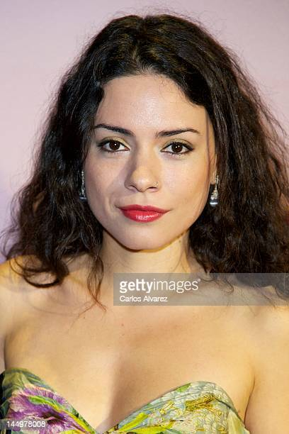 Spanish actress Ana Arias attends Cosmopolitan Fragances Awards 2012 at the Calderon Theater on May 21 2012 in Madrid Spain