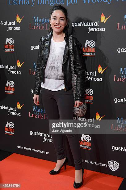 Spanish actress Ana Arias attends 'Inquilinos' premiere photocall at Madrid Premiere Week on December 2, 2014 in Madrid, Spain.