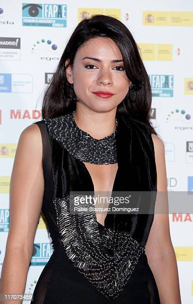 Spanish actress Ana Arias attends 'Spanish Night Cinema' party at Cecilio Rodriguez Gardens in Retiro Park on June 20 2011 in Madrid Spain