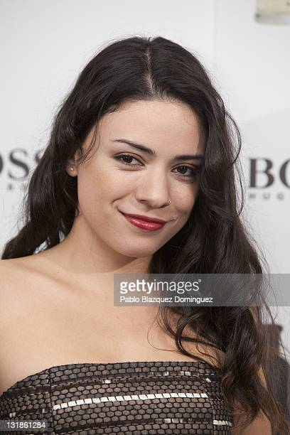 Spanish actress Ana Arias attends the Hugo Boss party at the Hugo Boss building terrace on November 15 2010 in Madrid Spain