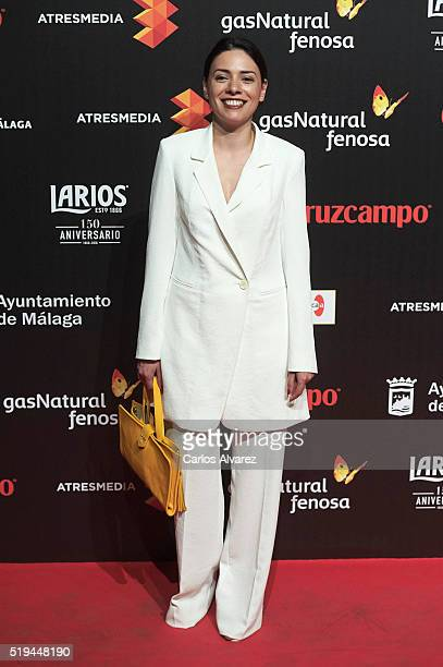 Spanish actress Ana Arias attends the Malaga Film Festival 2016 presentation cocktail at the Circulo Bellas Artes on April 6, 2016 in Madrid, Spain.