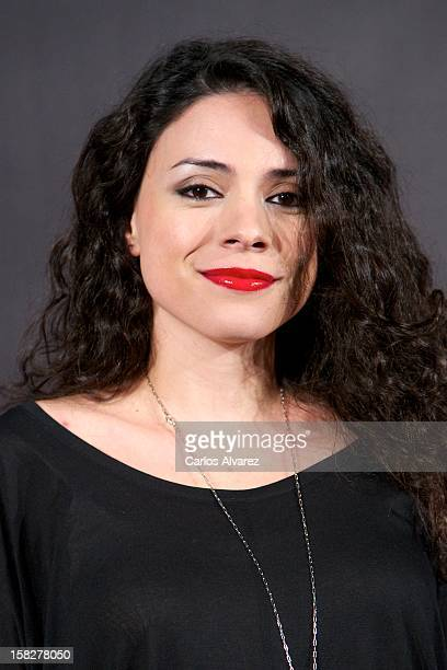 Spanish actress Ana Arias attends the The Hobbit An Unexpected Journey premiere at the Callao cinema on December 12 2012 in Madrid Spain
