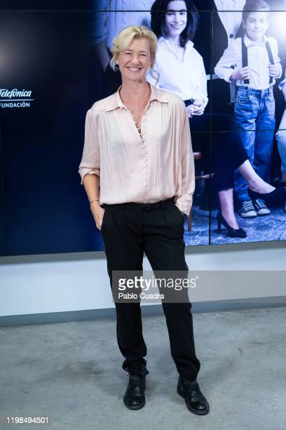 Spanish actress Ana Duato attends the 'Cuentame como paso' new season presentation on January 09 2020 in Madrid Spain