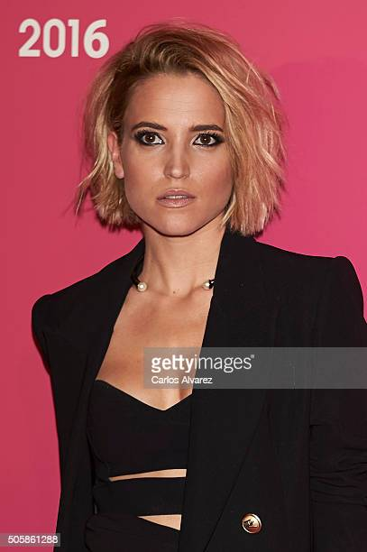 Spanish actress Ana Fernandez attends the 'T De Belleza' Beauty Awards by Telva Magazine at the Ritz Hotel on January 20 2016 in Madrid Spain