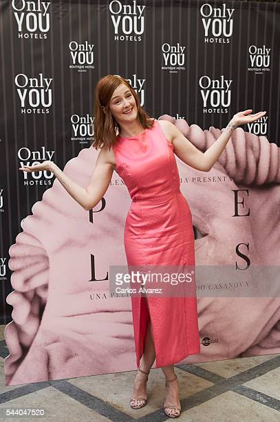 Spanish actress Ana Maria Polvorosa attends 'Pieles' photocall at the Only You Hotel on July 1 2016 in Madrid Spain