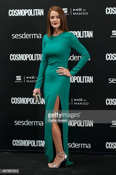 Spanish actress Ana Maria Polvorosa attends the Cosmopolitan Fun Fearless Awards 2014 at the Ritz Hotel on October 20 2014 in Madrid Spain