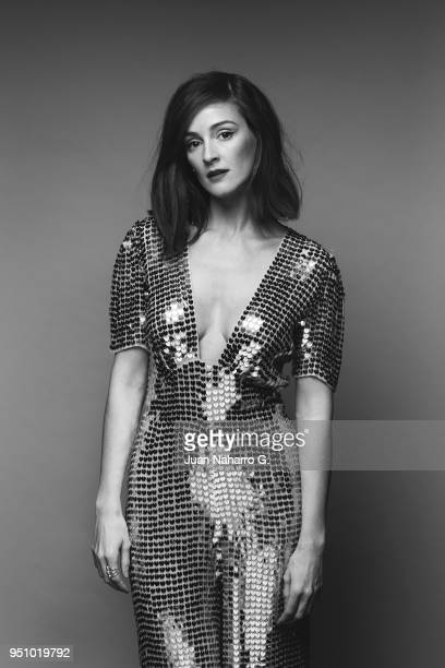 Spanish actress Ana Polvorosa is photographed on self assignment during 21th Malaga Film Festival 2018 on April 21 2018 in Malaga Spain