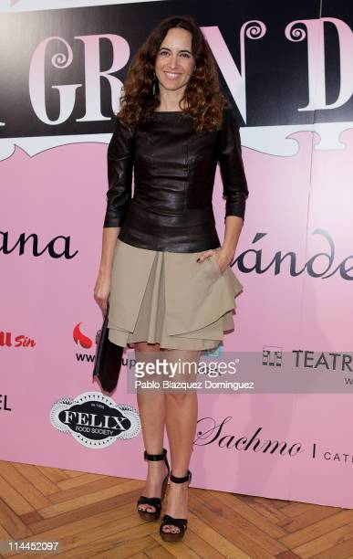 Spanish actress Ana Turpin attends 'La Gran Depresion' premiere at Infanta Isabel Theatre on May 19, 2011 in Madrid, Spain.