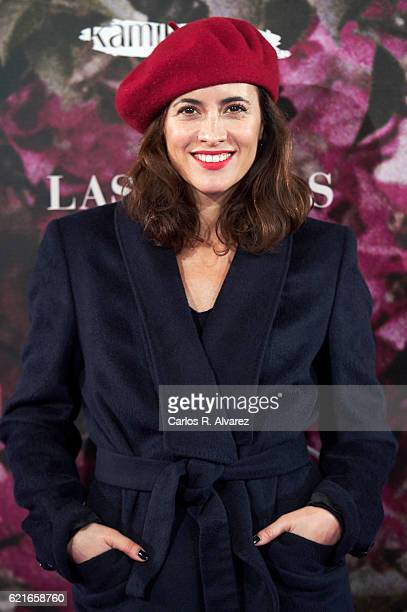 Spanish actress Ana Turpin attends 'Las Furias' premiere at Pavon Theater on November 7 2016 in Madrid Spain