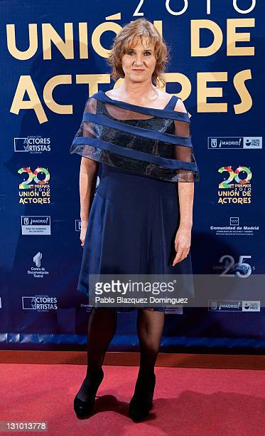 Spanish actress Ana Wagener attends XX Union de Actores Awards at Circo Price Theatre on October 31 2011 in Madrid Spain