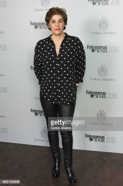 Spanish actress Anabel Alonso attends 'Fotogramas de Plata' awards 2016 at the Tatel Restaurant on February 13 2017 in Madrid Spain