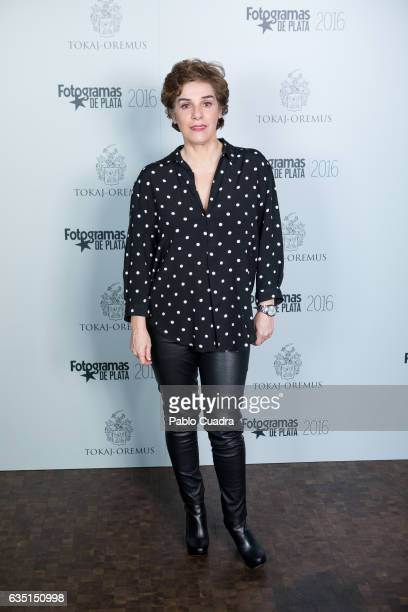 Spanish actress Anabel Alonso attends the 'Fotogramas de Plata' awards at 'Tatel' Restaurant on February 13 2017 in Madrid Spain