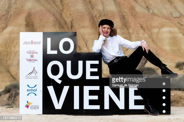 Spanish actress and singer Christina Rosenvinge attends 'Karen' premiere during the Lo que viene Film Festival at on May 12, 2021 in Tudela, Spain.