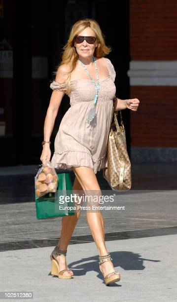 Spanish actress and TVcelebrity Ana Obregon sighting on June 29 2010 in Madrid Spain