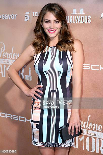 Spanish actress Andrea Duro attends 'Perdona Si Te LLamo Amor' premiere at 'Cinesa Mendez Alvaro' Cinema on June 16 2014 in Madrid Spain