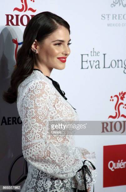Spanish actress Andrea Duro poses during the red carpet of The Golobal Gift Gala at St Regis Hotel on November 01 2017 in Mexico City Mexico