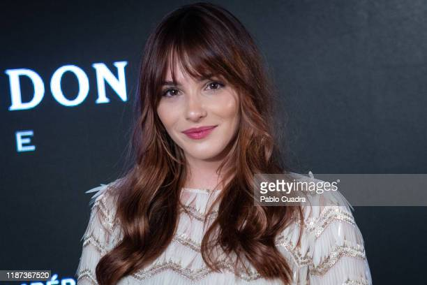 Spanish actress Andrea Duro presents the campaign to celebrate the 150th Anniversary of Moet Imperial at the Orfila Hotel on November 13 2019 in...