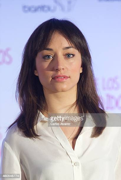 Spanish actress Andrea Trepat attends 'El Club de los Incomprendidos' photocall at the ME Hotel on December 16 2014 in Madrid Spain