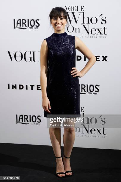Spanish actress Andrea Trepat attends the 'Vogue Who's On Next' party at the El Principito Club on May 18 2017 in Madrid Spain