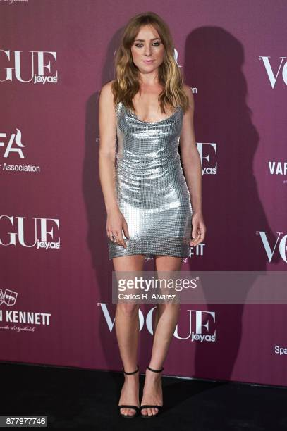 Spanish actress Angela Cremonte attends the 'Vogue Joyas' awards 2017 at the Santona Palace on November 23 2017 in Madrid Spain