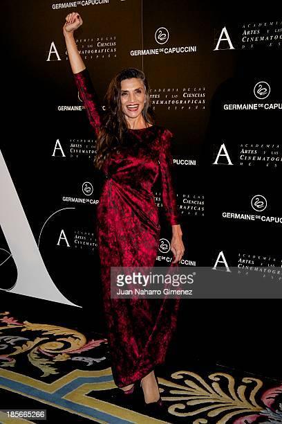 Spanish actress Angela Molina attends 'Golden Medal Award 2013 Gala' at Ritz Hotel on October 23 2013 in Madrid Spain