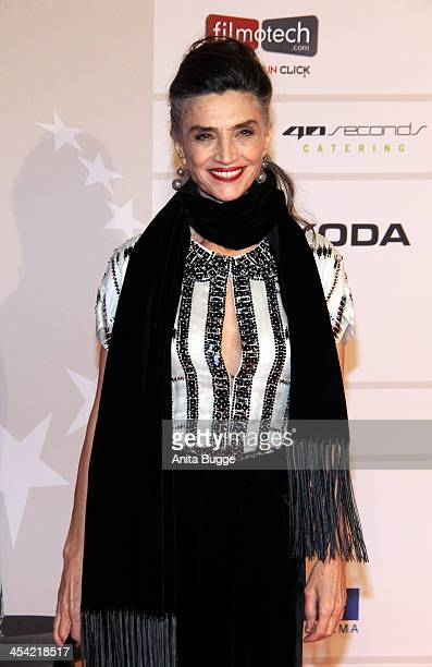 Spanish actress Angela Molina attends the European Film Awards 2013 at on December 7 2013 in Berlin Germany