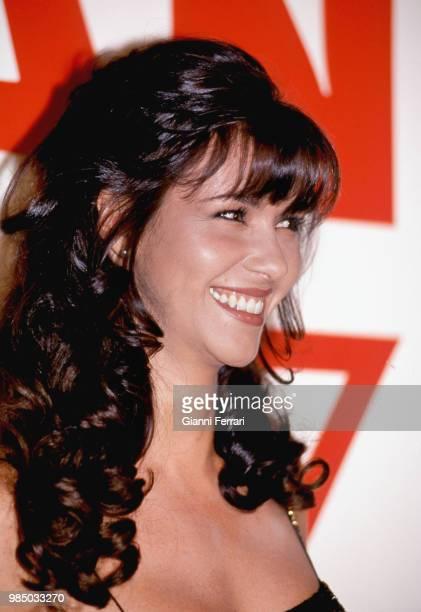 Spanish actress Arancha del Sol Madrid Spain