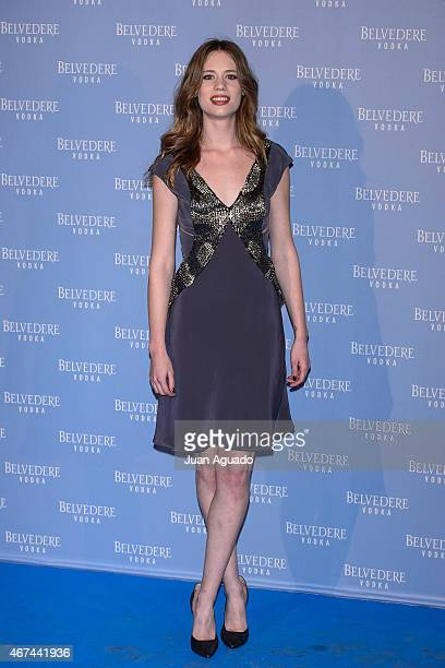 Spanish actress Arancha Marti attends the Belvedere Vodka Night at Principe Pio train station on March 24 2015 in Madrid Spain