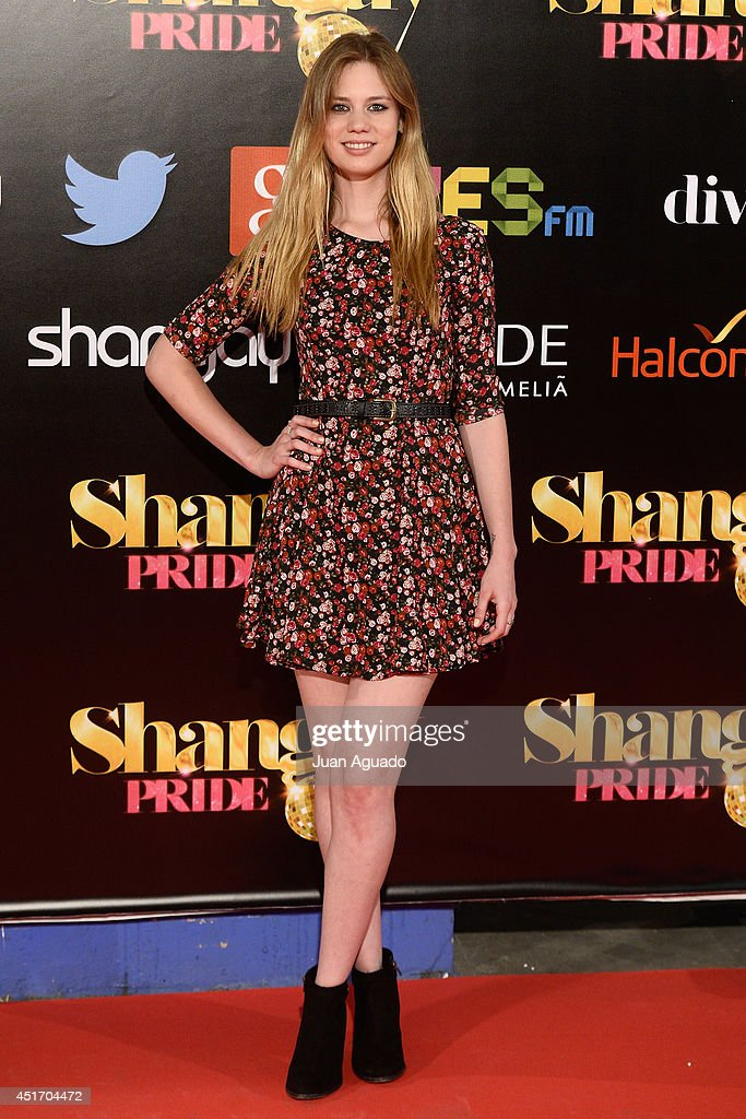 Spanish actress Arantxa Marti attends the Shangay Pride Madrid Photocall 2014 at Vicente Calderon Stadium on July 4, 2014 in Madrid, Spain.
