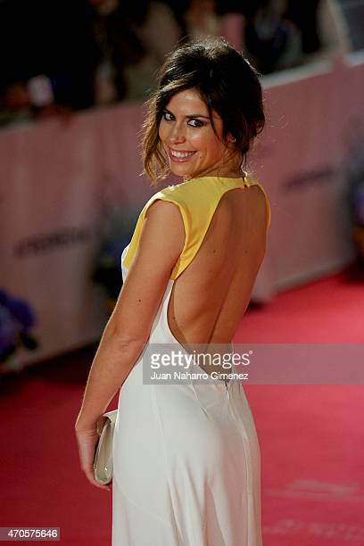Spanish actress Barbara Hermosilla attends the 'Requisitos Para Ser Una Persona Normal' premiere during the 18th Malaga Spanish Film Festival at...