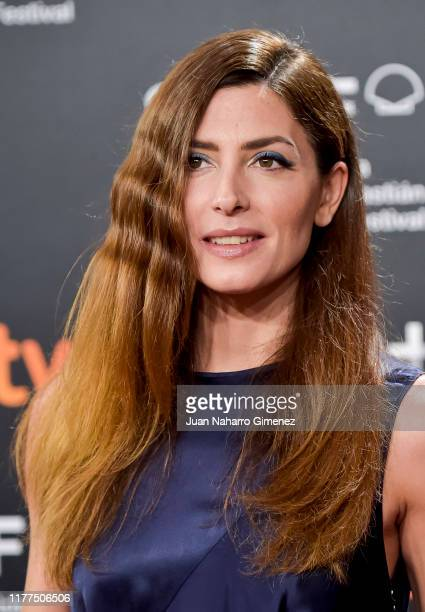 Spanish actress Barbara Lennie attends Donostia award red carpet/ceremony at Kursaal during 67th San Sebastian International Film Festival on...