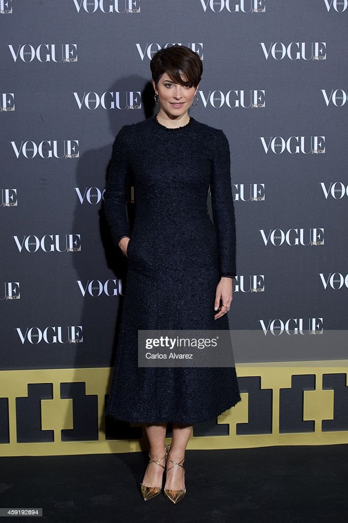 Spanish actress Barbara Lennie attends the 'Vogue Joyas' 2013 awards at the Stock Exchange building on November 18, 2014 in Madrid, Spain.