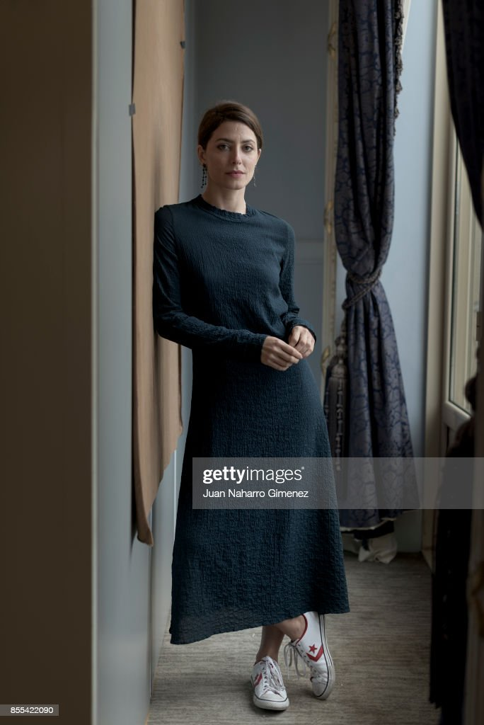 Spanish actress Barbara Lennie poses for a portrait session during 65th San Sebastian Film Festival at Maria Cristina Hotel on September 26, 2017 in San Sebastian, Spain.
