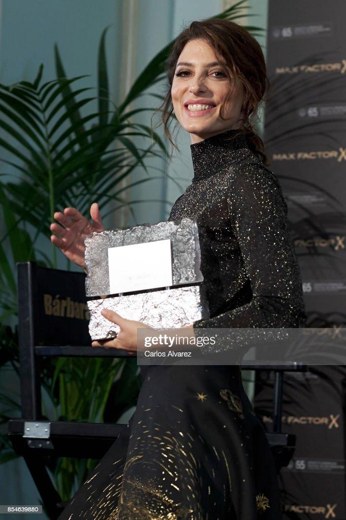 Max Factor Award - 65th San Sebastian Film Festival