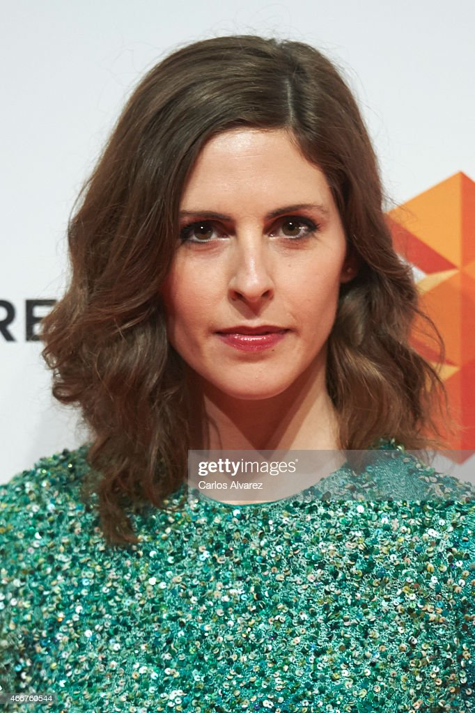 Spanish actress Barbara Santa-Cruz attends the Malaga Film Festival cocktail presentation at Circulo de Bellas Artes on March 18, 2015 in Madrid, Spain.