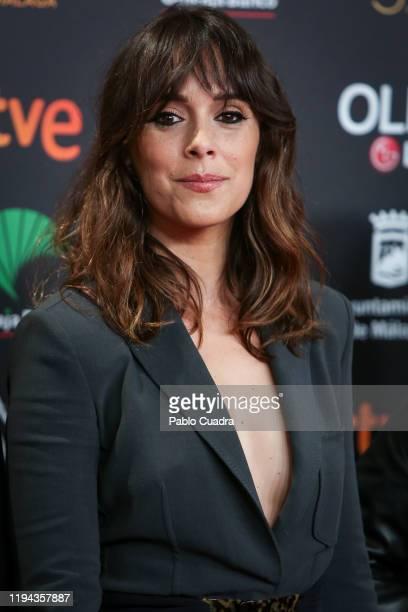Spanish actress Belen Cuesta attends the Candidates to Goya Cinema Awards party at Florida Retiro on December 16 2019 in Madrid Spain
