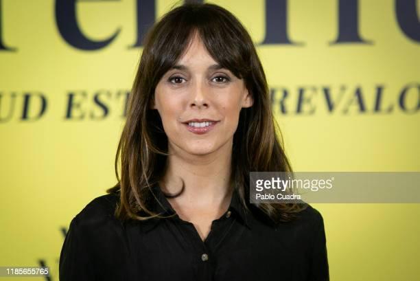 Spanish actress Belen Cuesta attends Ventajas De Viajar En Tren phoocall at Urso Hotel on November 05 2019 in Madrid Spain