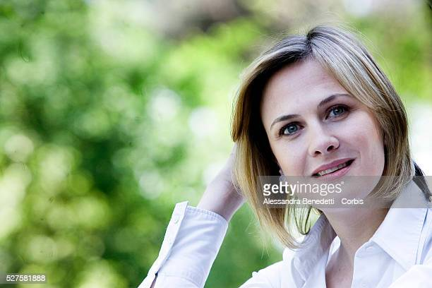 "Spanish actress Belen Fabra attends the photocall of ""Insatiable: The Sexual Adventures of a French Girl in Spain"" in Rome."