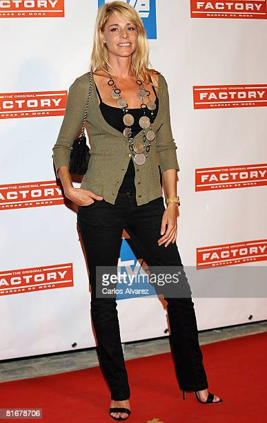 Spanish actress Belen Rueda attends Version Espanola 10th Anniversary Party at the Matadero on June 23 2008 in Madrid Spain