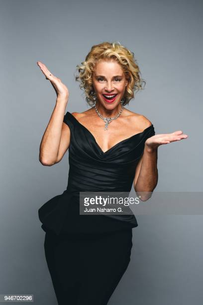 Spanish actress Belen Rueda is photographed on self assignment during 21th Malaga Film Festival 2018 on April 15 2018 in Malaga Spain
