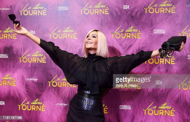 Spanish actress Bibiana Fernandez attends photocall of 'La Ultima Tourne' on October 15 2019 in Madrid Spain