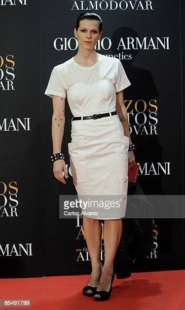 """Spanish actress Bimba Bose attends """"Los Abrazos Rotos"""" premiere at the Proyecciones cinema on March 18, 2009 in Madrid, Spain."""