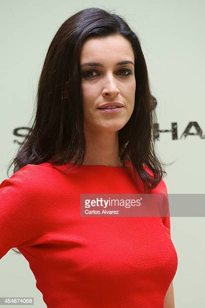 Spanish actress Blanca Romero attends the Bajo Sospecha new season photocall at the Villa Suso Palace during day 5 of the 6th FesTVal Television...