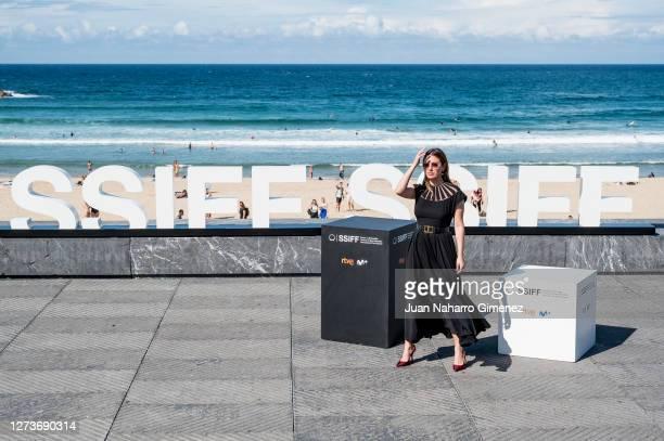 Spanish actress Blanca Suarez attends 'El Verano Que Vivimos' photocall during the 68th San Sebastian International Film Festival at the Kursaal...