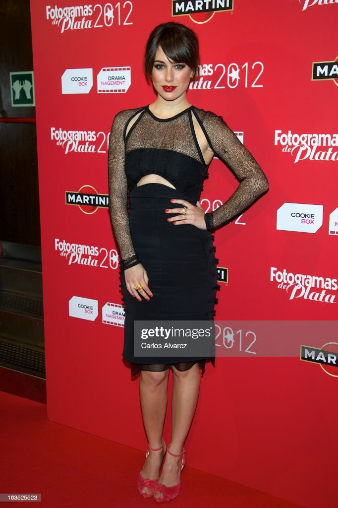 Spanish actress Blanca Suarez attends Fotogramas awards 2013 at the Joy Eslava Club on March 11, 2013 in Madrid, Spain.